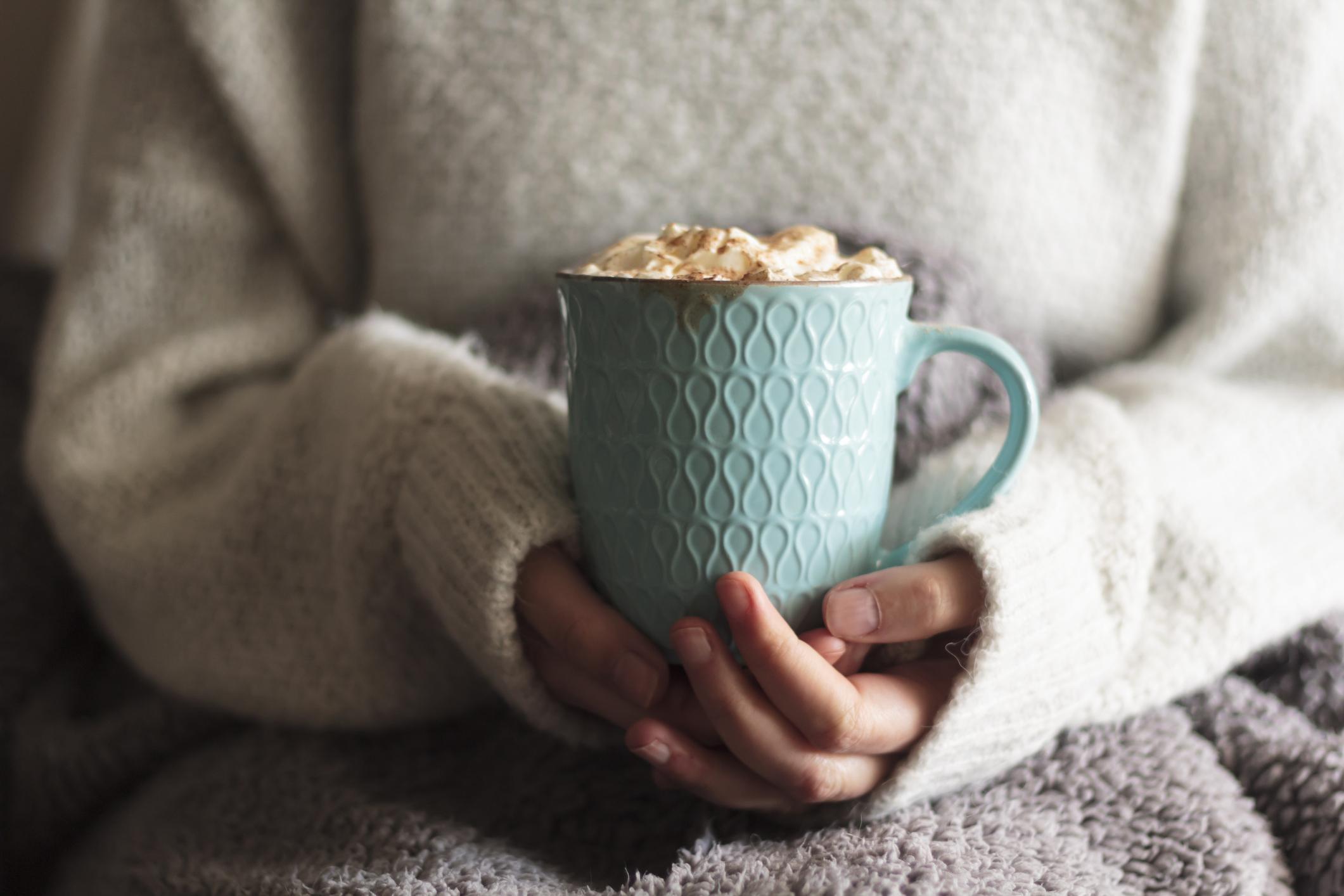Un chocolat chaud