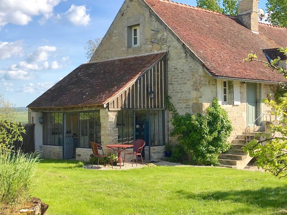 Logement avec vue à Corsaint, Bourgogne-France-Comté