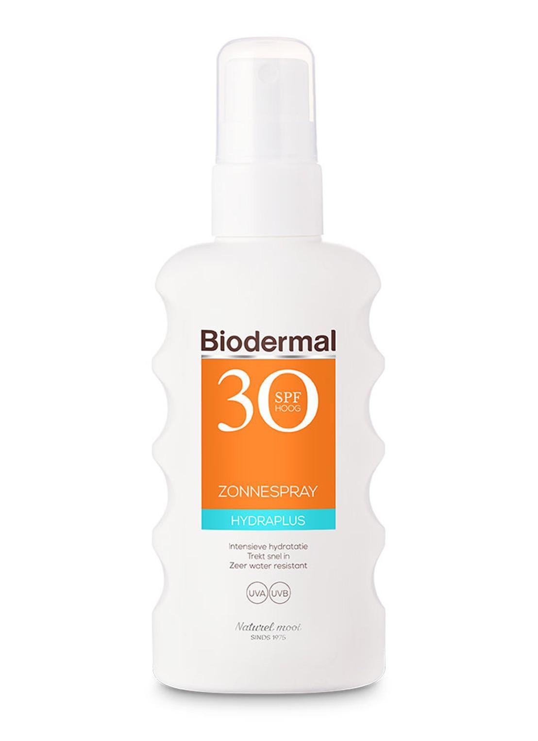 Voor de donkere huid:Hydra Plus Zonnespray Water Resistant SPF 30