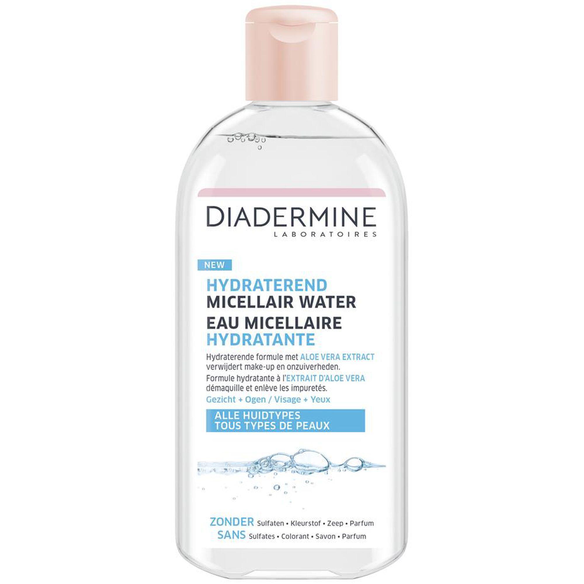 Hydraterend micellair water voor alle huidtypes (400 ml)