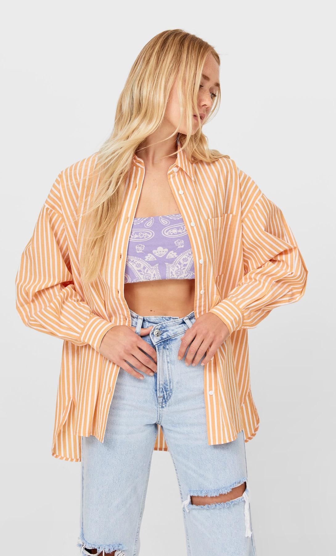 Boyfriend blouse