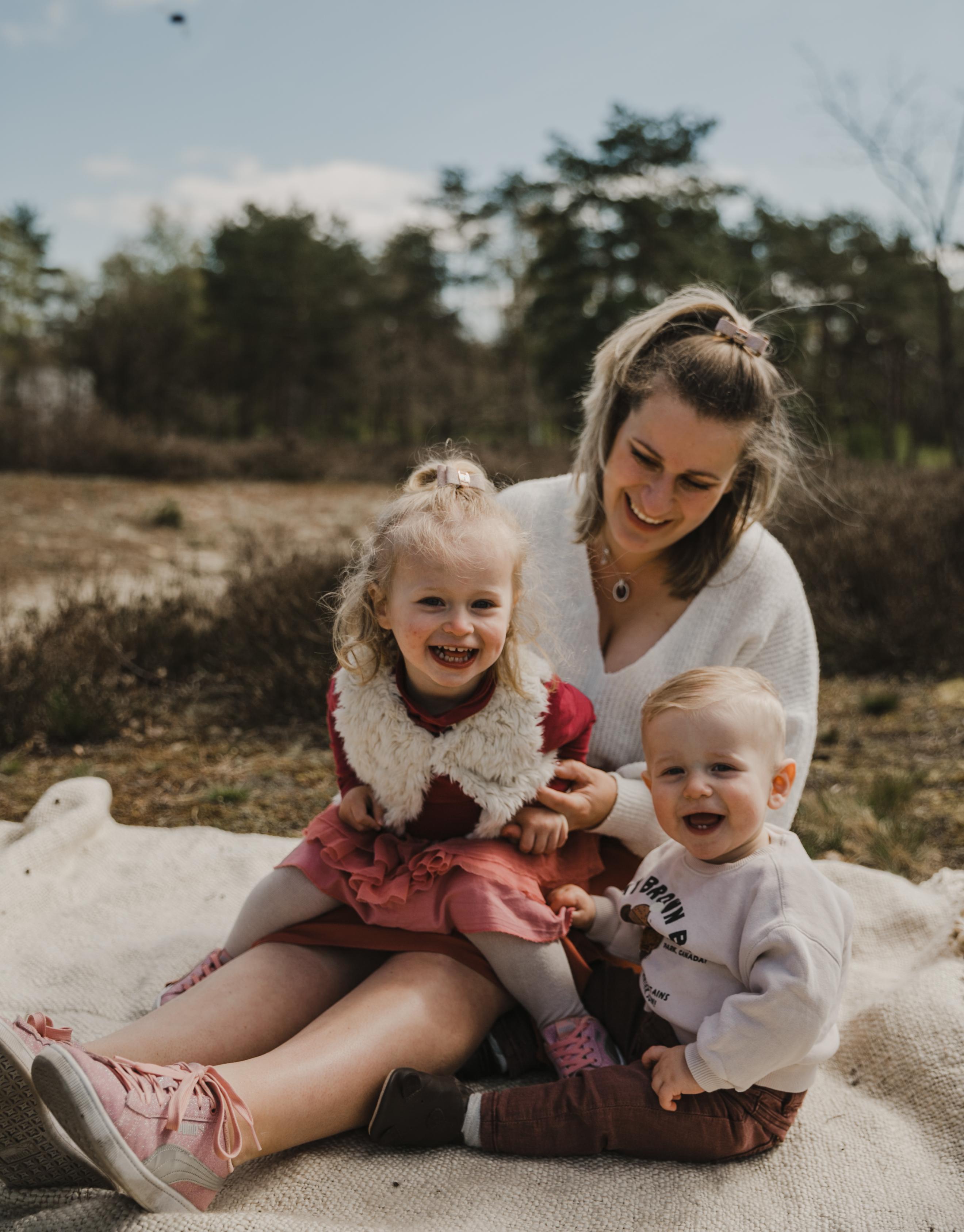 Shooting avec mes enfants