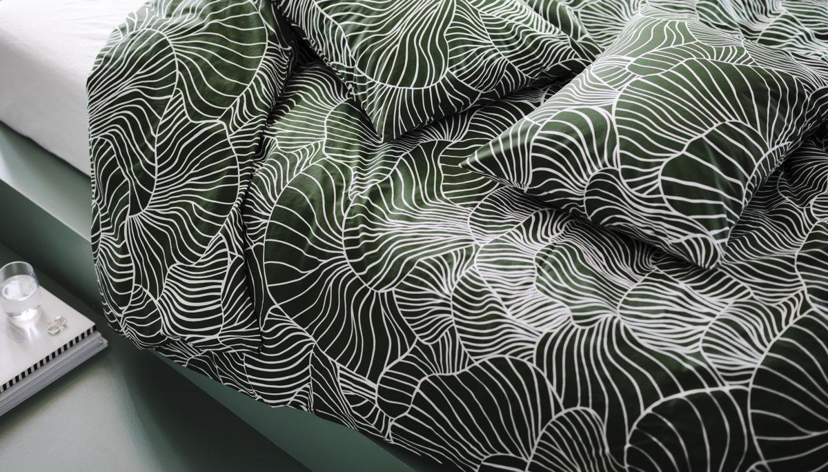 Le linge de lit SVAMPAL