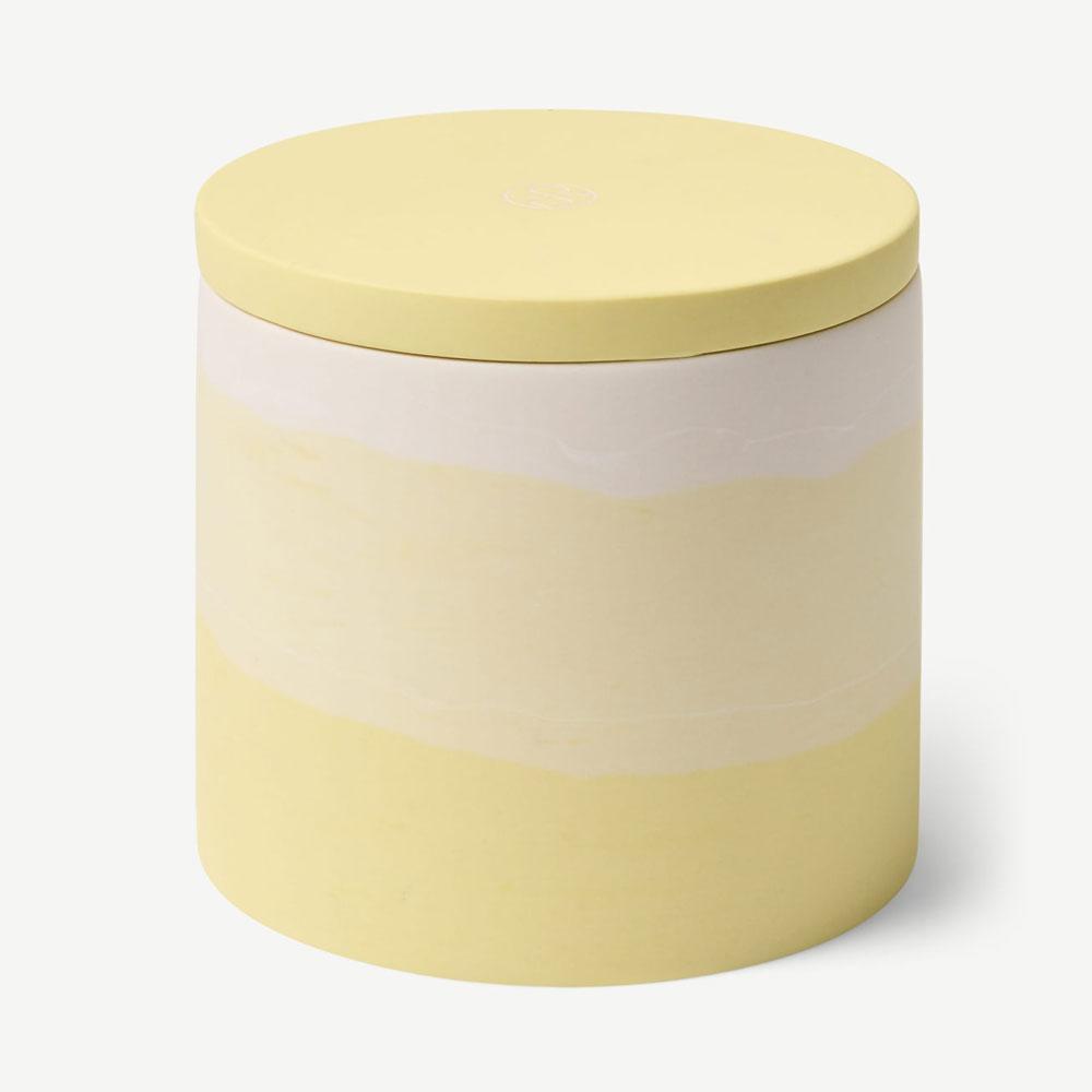Kaars met citroen, litsea en bergamot