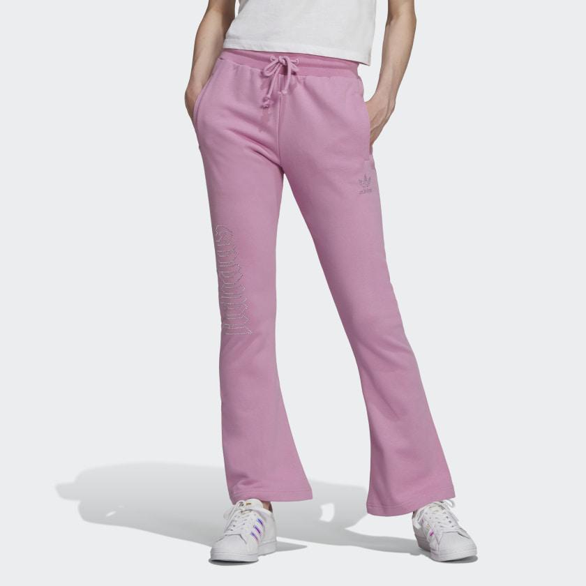 Pantalon de survêtement rose