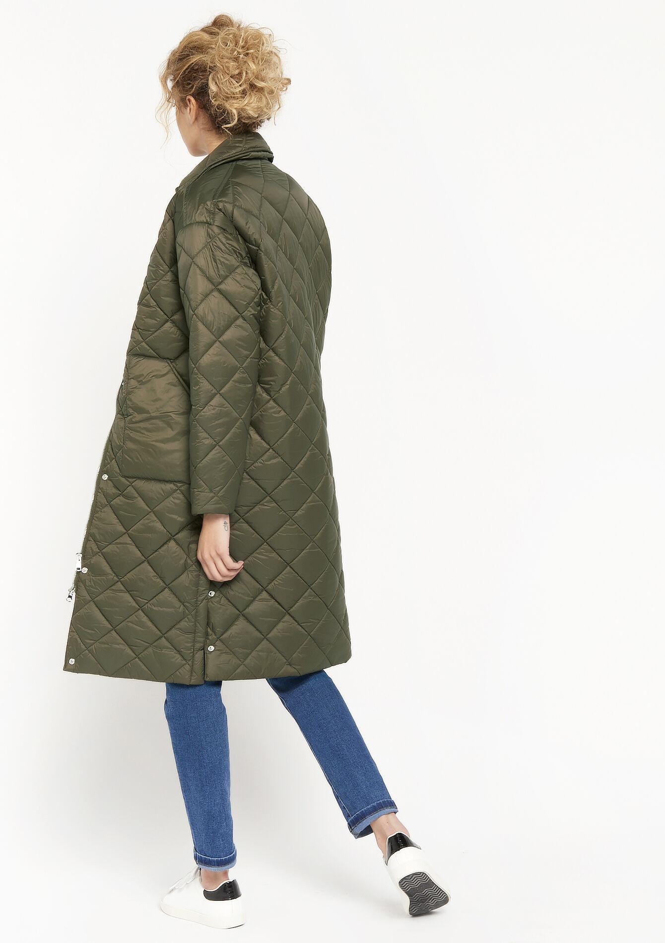 La longue veste matelassée