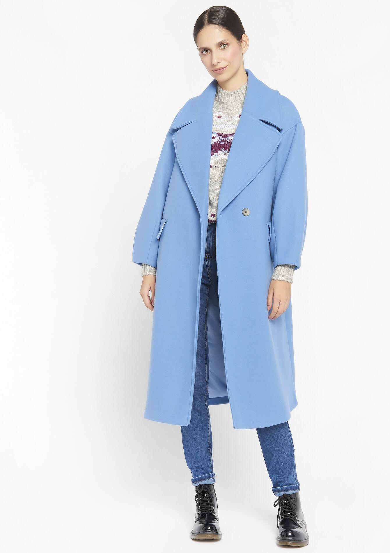 Le manteau long <em>oversize</em>» class=»c-product__image»>  <div class=
