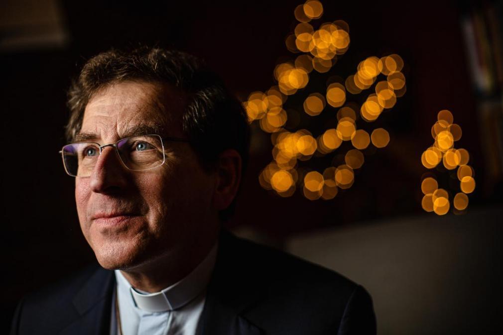 Bisschop van Brugge Lode Aerts. (foto Davy Coghe)©Davy Coghe Davy Coghe