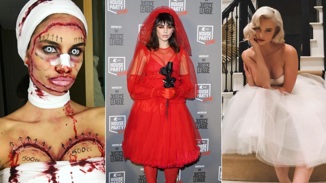 Professionele Halloween Kostuums.Deze Halloweenkostuums Waren Dit Jaar Razend Populair Bij Celebs