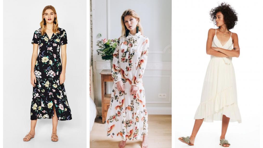4b47820125d 15 robes longues et romantiques à shopper pour le printemps - Gael.be