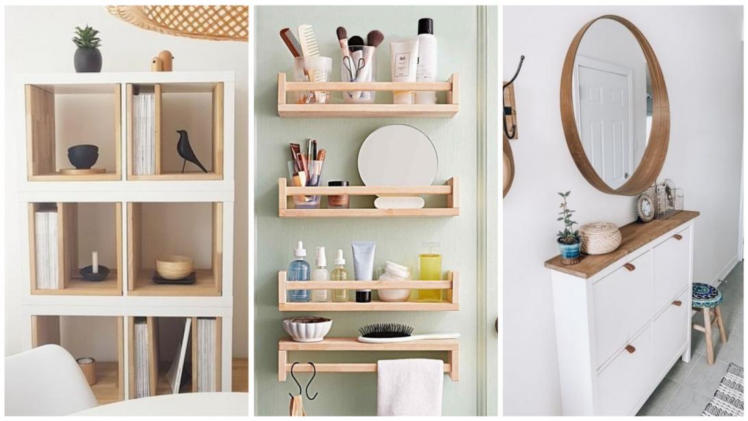 Ikea Hacking Les Caisses En Bois Knagglig Joli Place Petit Meuble Rangement Rangement Legumes Meuble Rangement Ikea