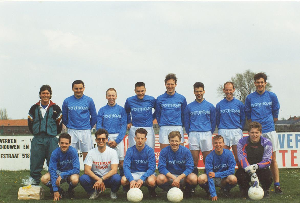 Bij KSV De Ruiter fungeerde Marc Nonkel als speler-trainer.