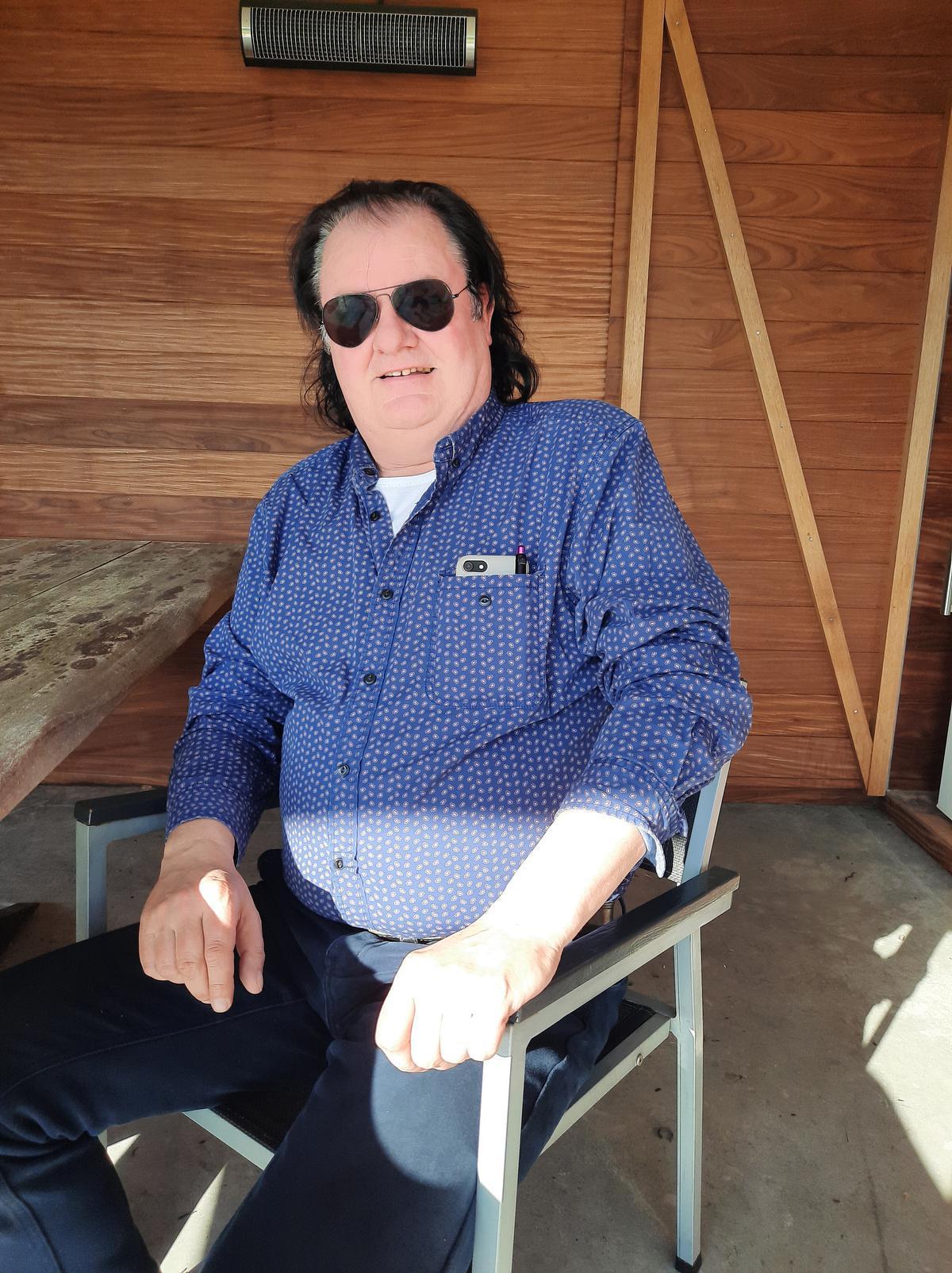 Op zijn 60ste wil Laurens Monteyne graag genieten van het leven.