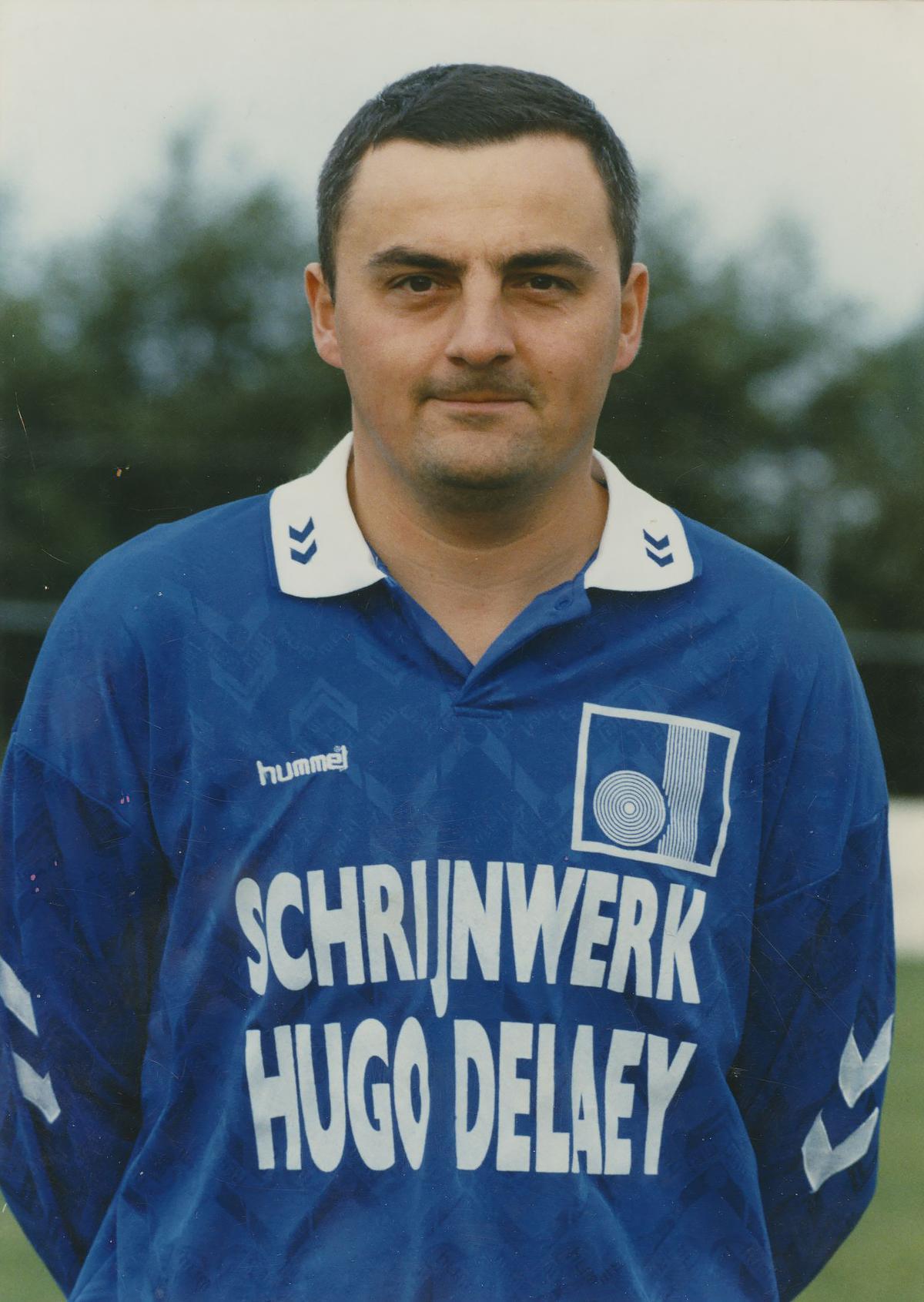 Rik Masil als speler bij KSV De Ruiter.