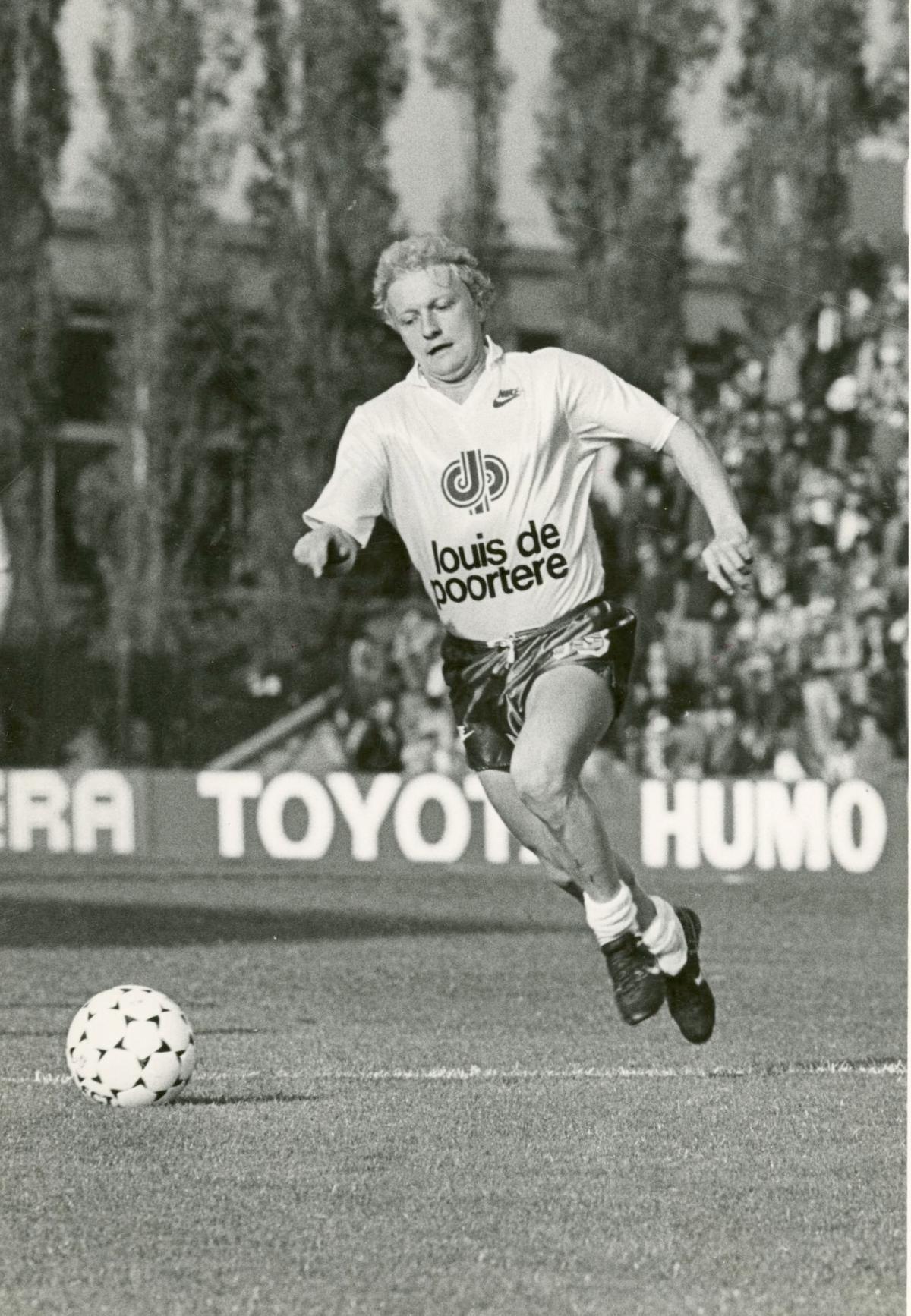 Maxim Vandamme in actie bij KV Kortrijk.