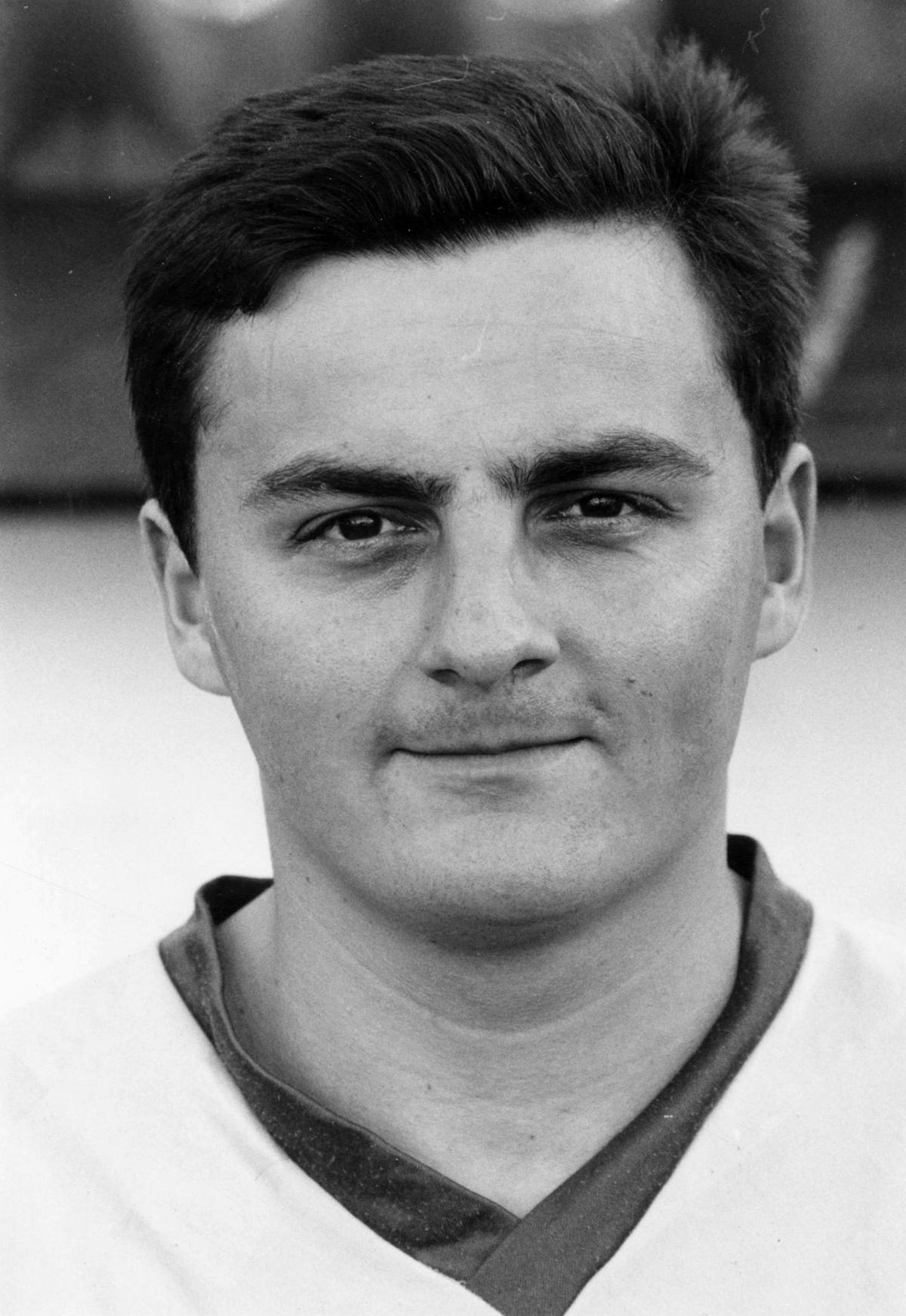 De jonge Rik Masil bij E. Wervik.