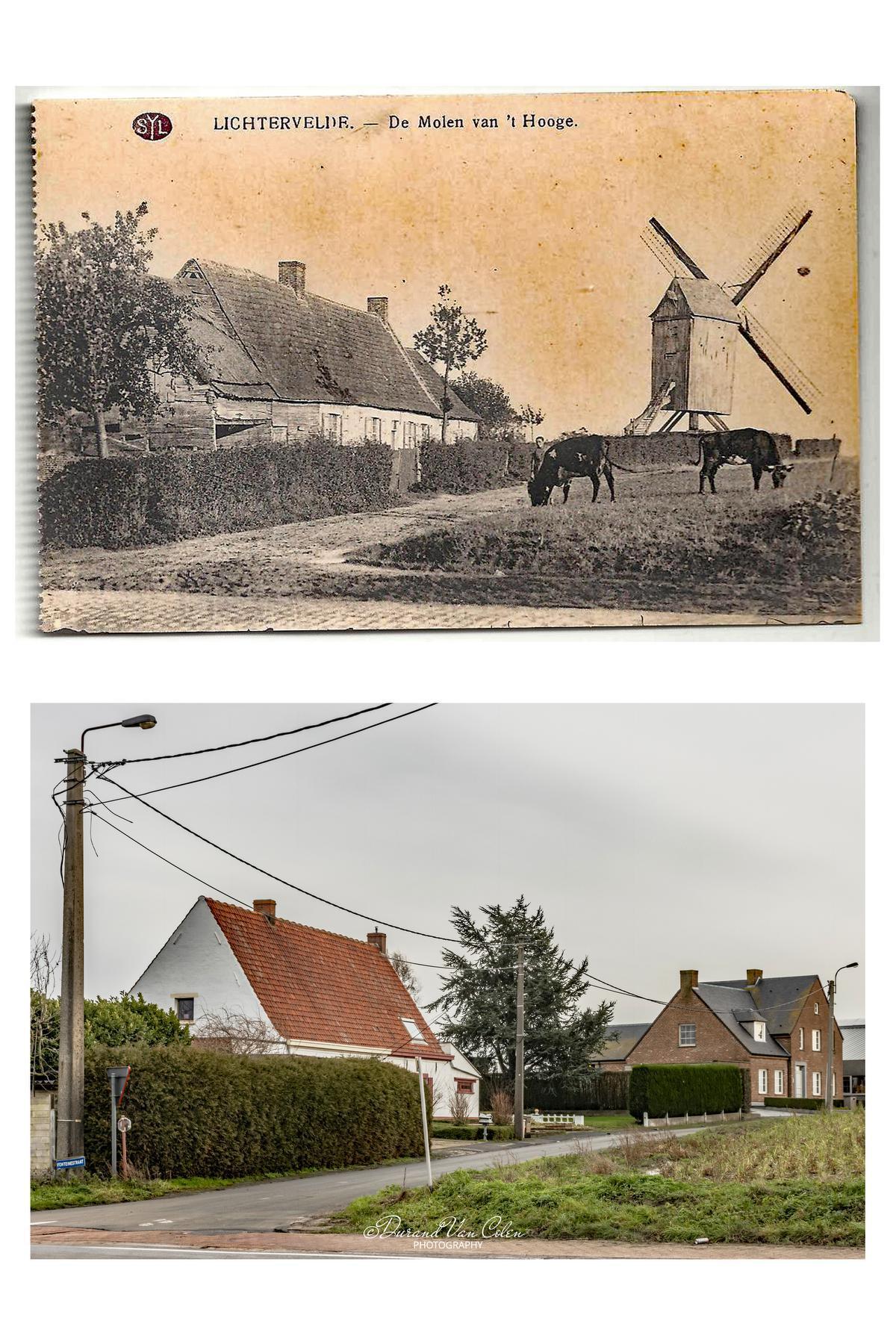 De molen van 't Hoge.