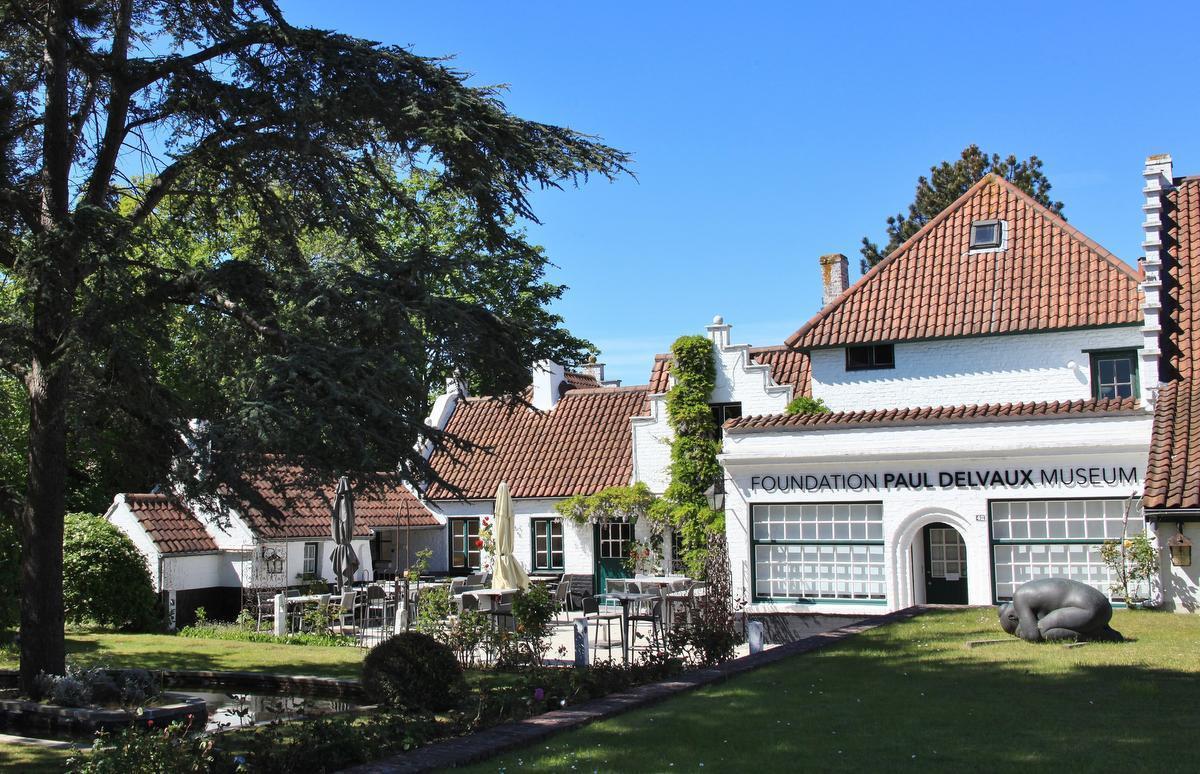 Paul Delvaux Museum in Sint-Idesbald opent opnieuw de deuren - KW.be