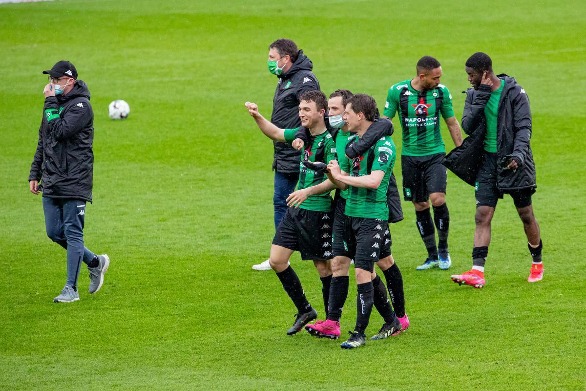 Cercle viert de 3-0.©KURT DESPLENTER BELGA