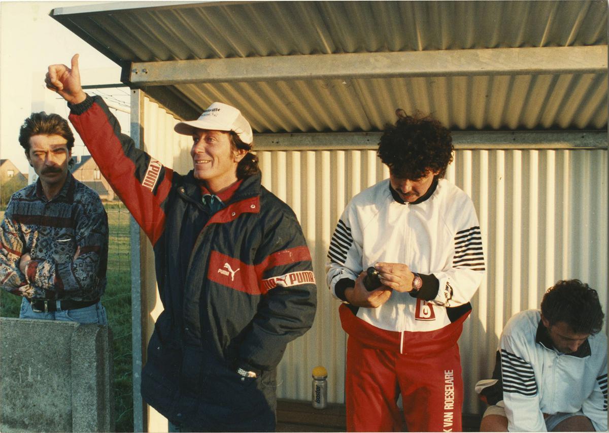 Marc Nonkel debuteerde bij KFC Lendelede als trainer en meteen zag hij dat het goed was.