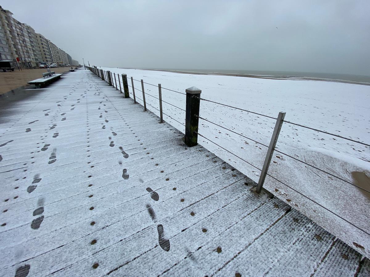 Op de dijk van Oostende.© PM