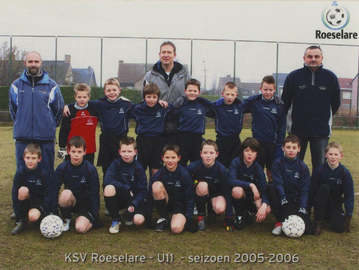 Jeugdtrainer bij KSV Roeselare.