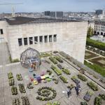 Le toit de la Bibliothèque Royale