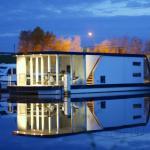 Une maison sur l'eau - Nieuport