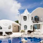 Casa Caracol,Isla Mujeres, Mexique