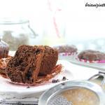 Muffins au chocolat aux graines de chia