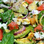 Salade de fruits, légumes et chia