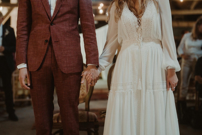 Boho trouwjurk Anne