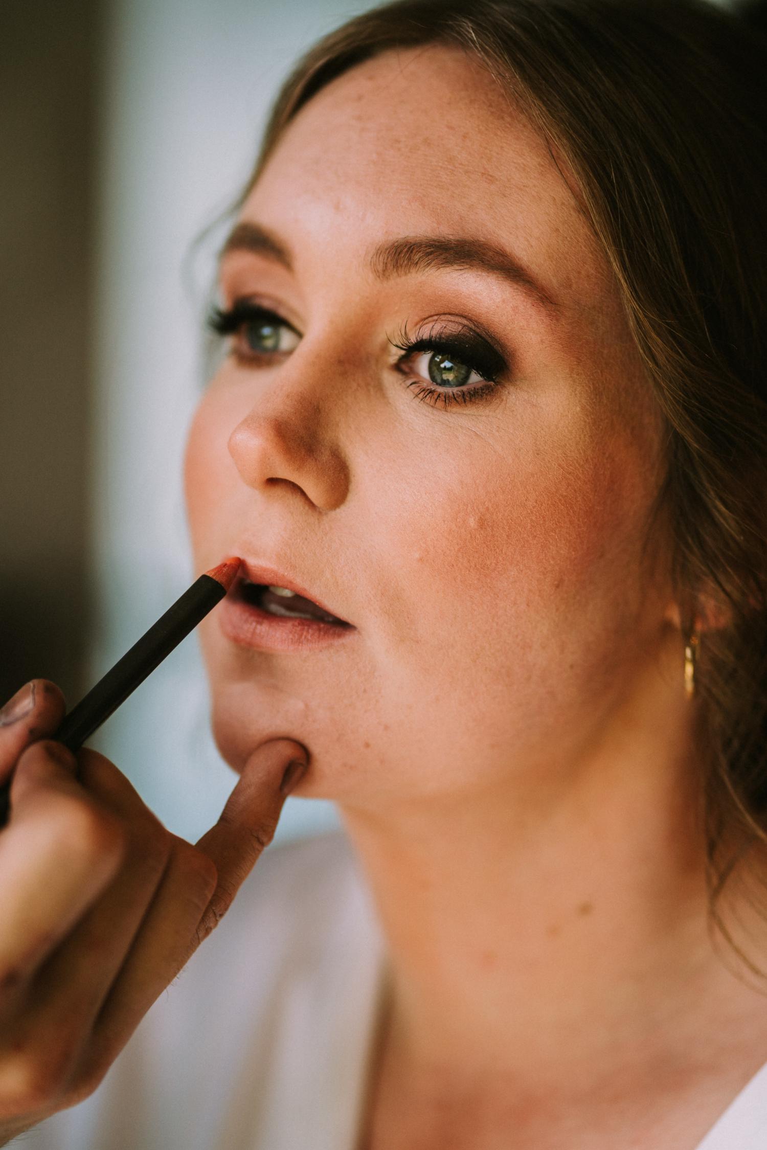 Make-up en haar huwelijk