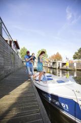 bateau famille polders