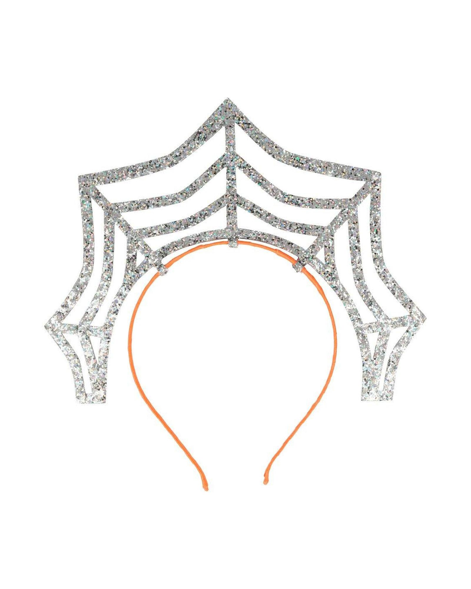 Zilveren spinnenweb