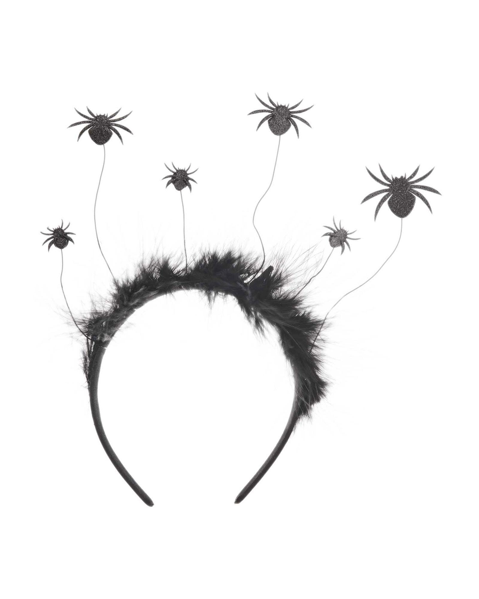 Haarband met spinnetjes