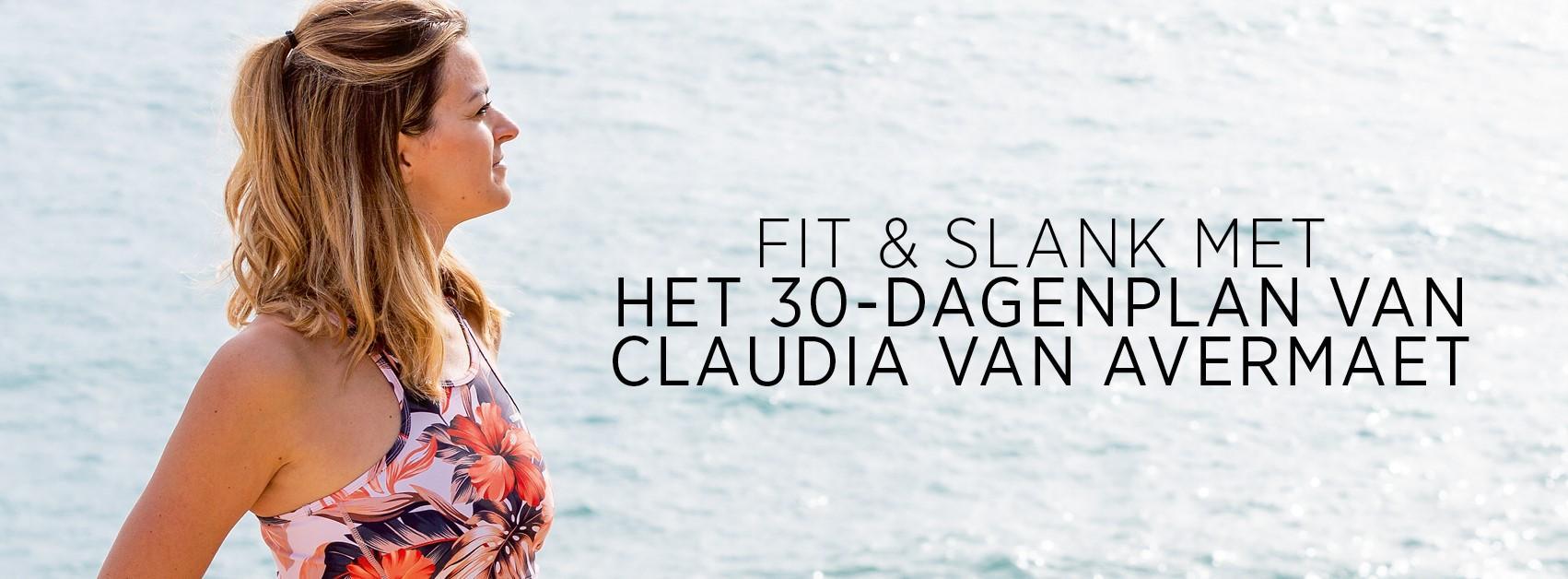fit en slank 30 dagenplan Claudia Van Avermaet