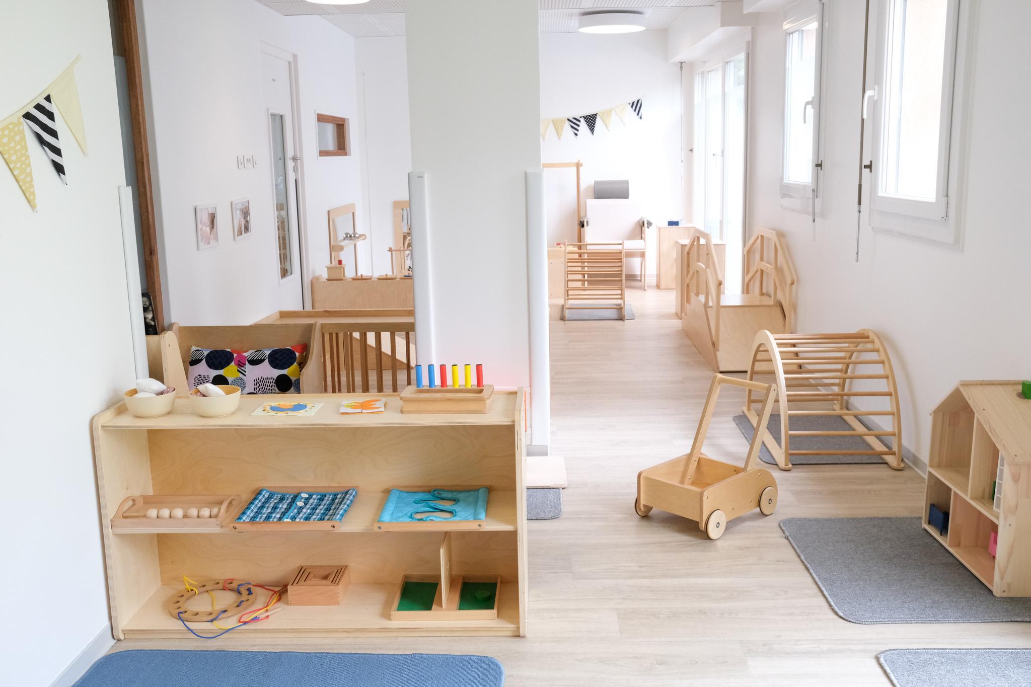 Montessori kinderdagverblijven in België