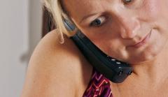 Gsm à l'oreille - portable