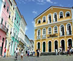 Salvador de Bahia au Brésil