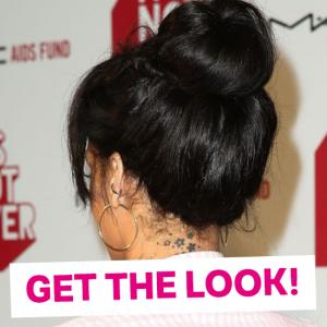 Get the look Rihanna bun