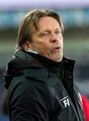 Antwerp-coach Frank Vercauteren vond de score overdreven.© BELGA/KURT DESPLENTER