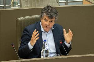 Vlaams minister van Binnenlands Bestuur Bart Somers (Open VLD).© BELGA