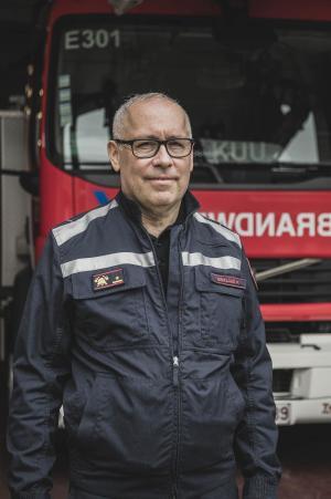 In afwachting van een nieuwe zonecommandant is Piet Beirlaen vervangend commandant. Normaal komt er snel een opvolger voor de vertrokken Frank Maertens.© Olaf Verhaeghe