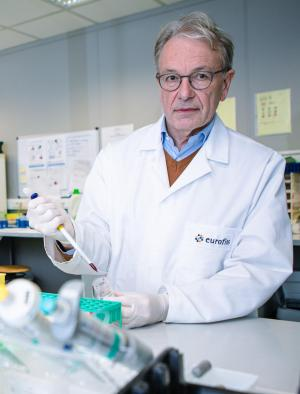 Toxicoloog Jan Cordonnier (archief Davy Coghe)© Davy Coghe