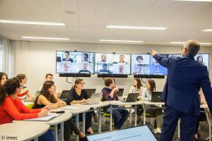 Educatieve technologie in het edulab. (foto imec)