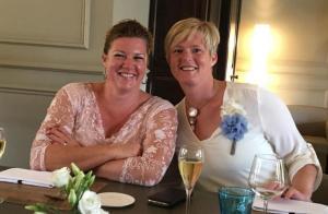 Slachtoffer Ellen D'hooghe en haar zus Nele. (gf)