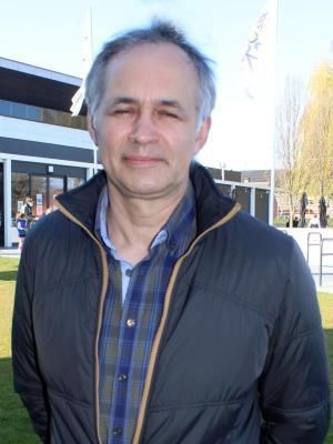 Marc Paelinck, voorzitter van VFG Lauwe.©Wilfried Ossieur