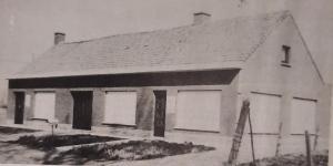 Daniël Scholeer vermoordde zijn familie in deze twee aanpalende huizen.