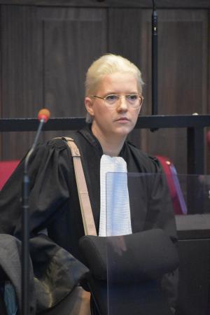 Advocate Nina Van Eeckhaut. (foto LK)